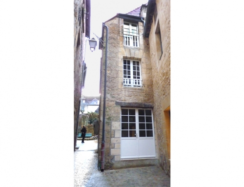 Réhabilitation Immeuble – Groupe Promogère – Sarlat