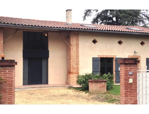 Projet D – Rénovation maison individuelle – Rouffiac